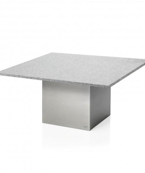 stuebord med stål ben